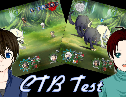 RPG Maker – Rosenhearts Dev Log – Early CTB Test