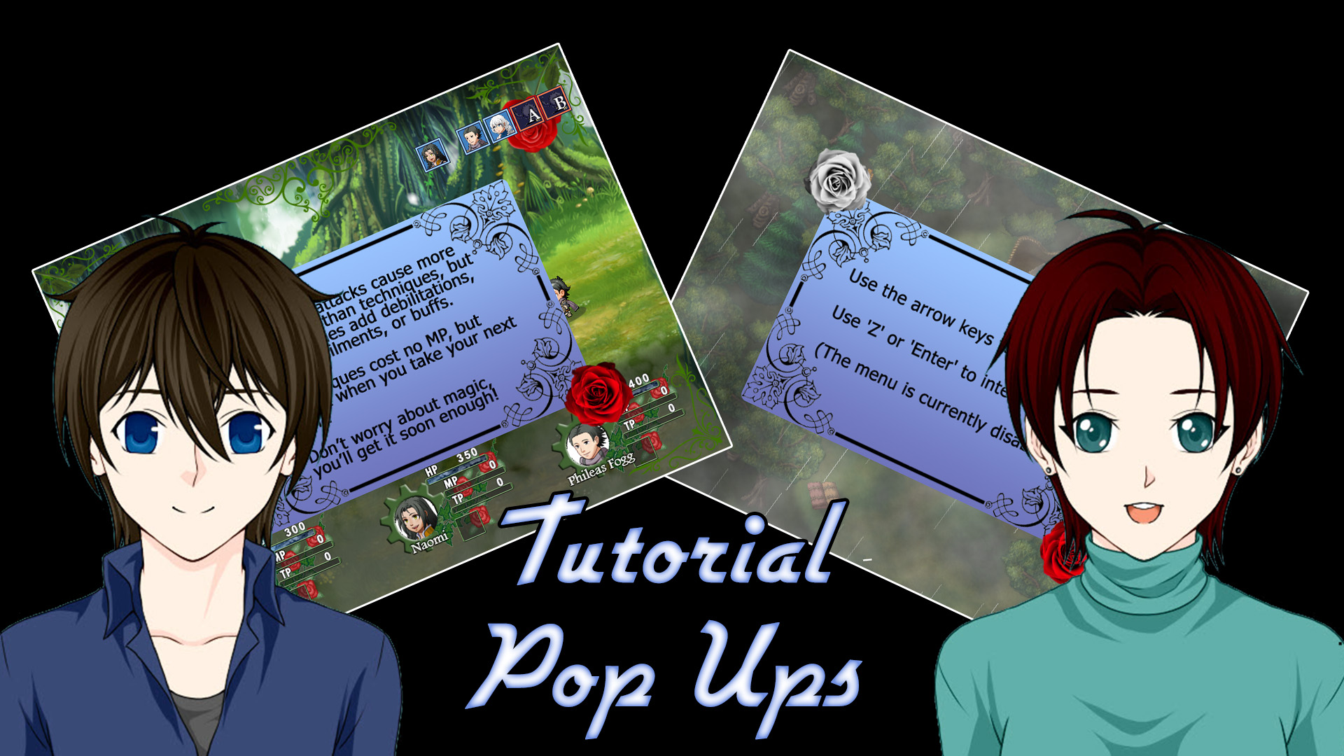 Rosenhearts – Tutorial Pop Up Tests
