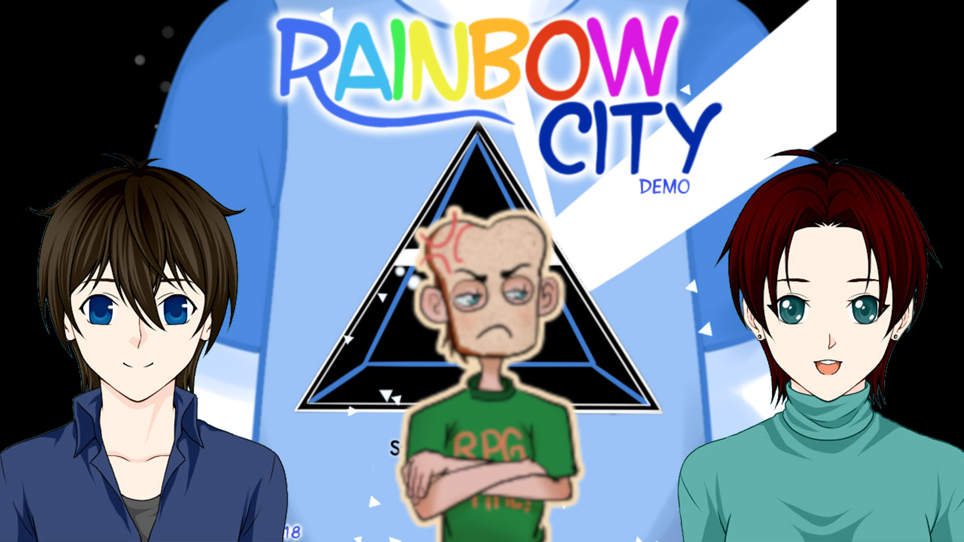 RPG Maker Let's Play – Rainbow City – Game Critique (With Toasty)