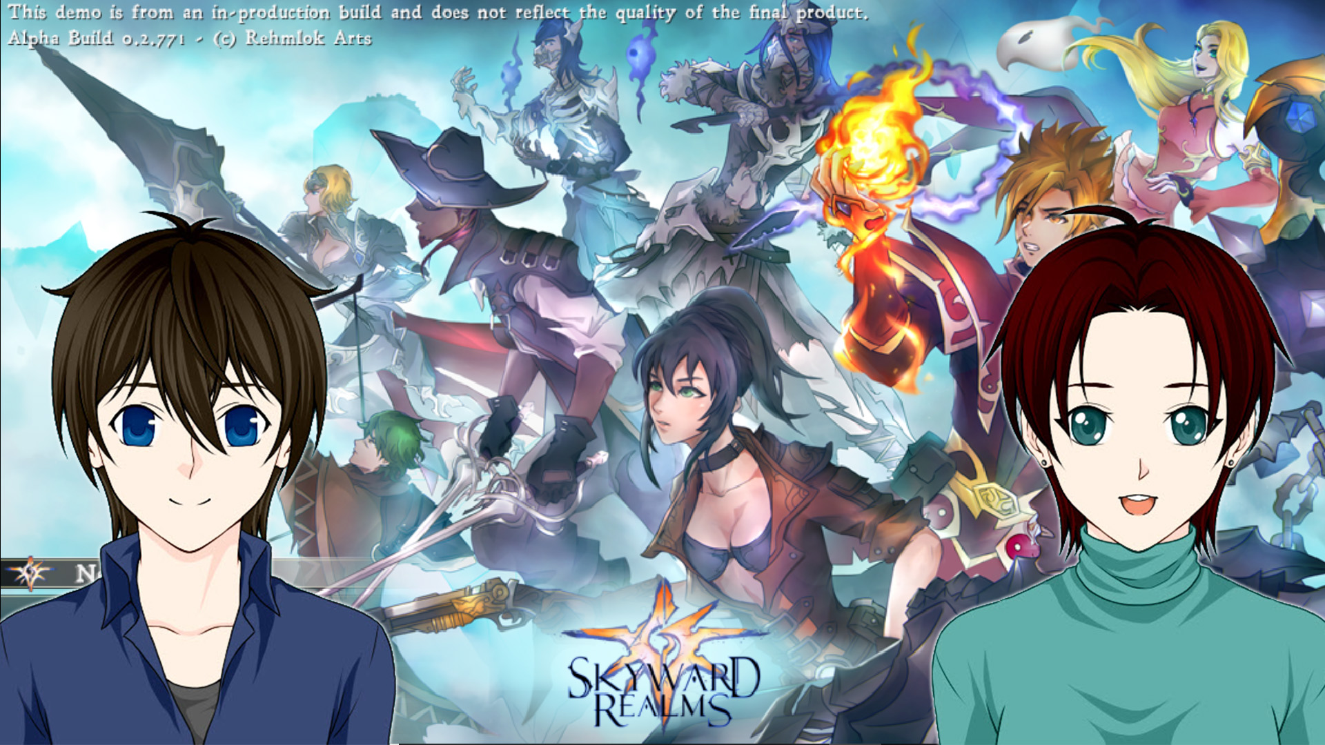 RPG Maker Let's Play – Skyward Realms – Game Critique